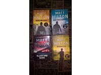Matt Hilton - Joe Hunter Books x 4