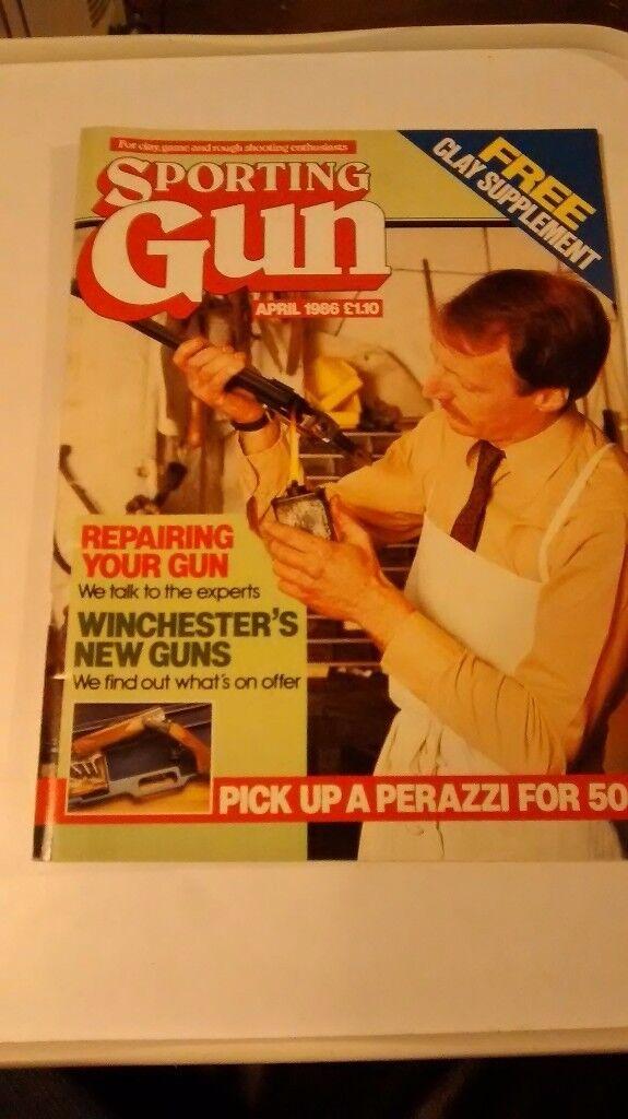 SPORTING GUN APRIL 1986