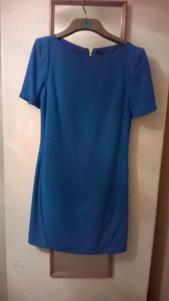 lovely teal dress size 8