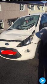 2012 Ford Ka front end damage