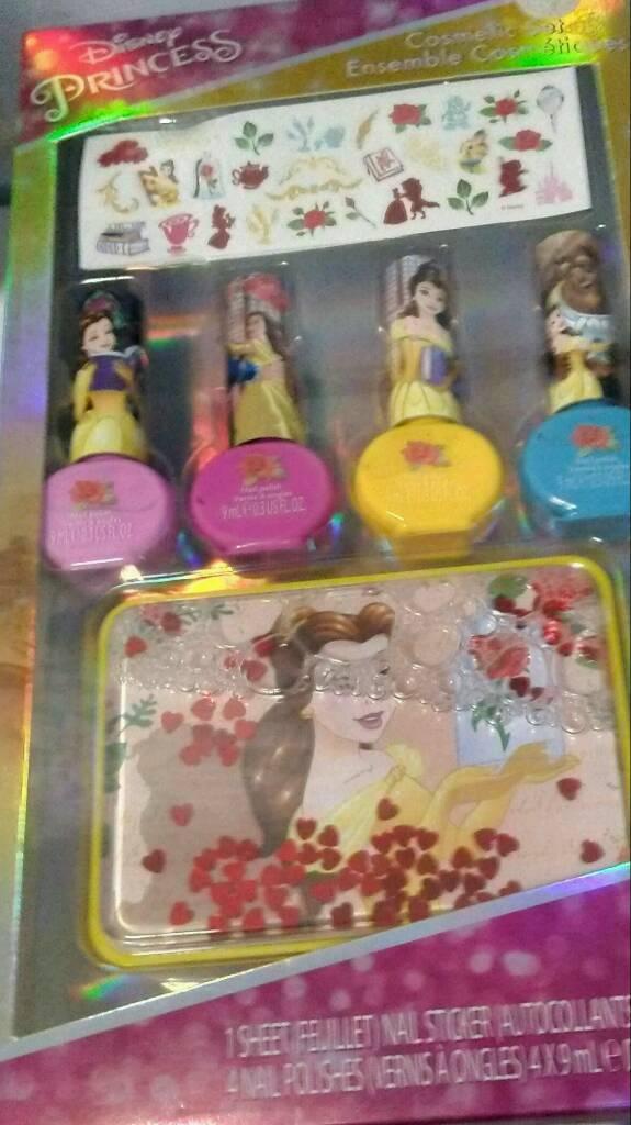 Disney Princess Nail Varnish And Sticker Set | in Wood Green, London |  Gumtree