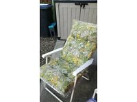Vintage sun lounger great cond
