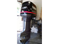 Yamaha VX 250Hp outboard Boat Rib Powerboat engine 2 stroke