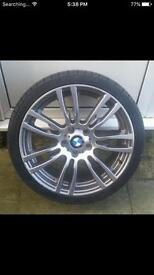 """Genuine 19"""" BMW M Sport 408 F30 F20 E90 E92 E60 Alloy Wheel 1 3 5 Series"""