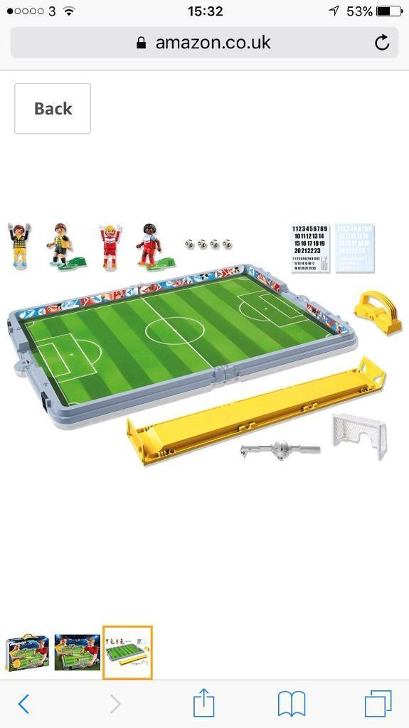 Playmobil take along football match