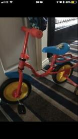 Mickey Mouse toddler bike