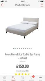 Double bed with mattress!