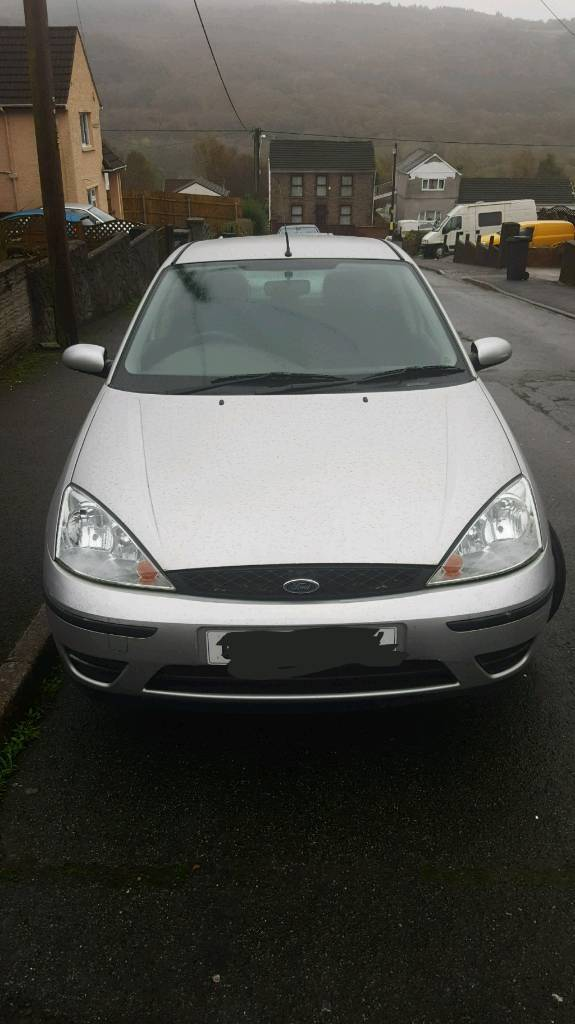ford focus 1.6 02 plate.Open to sensible offers..