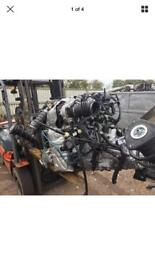 Ford Focus 1.6 tdci engine fully complete 4K 2017