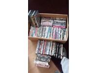 Approx 100 DVDs all region 2 kids, drama, thrillers horror comedy rom cim