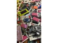 Job lot mobile phone cases and accessories great for car boot