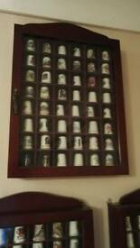 Thimbles and cases.