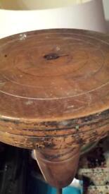 Antique vintage wheelie potters wheel. Pottery