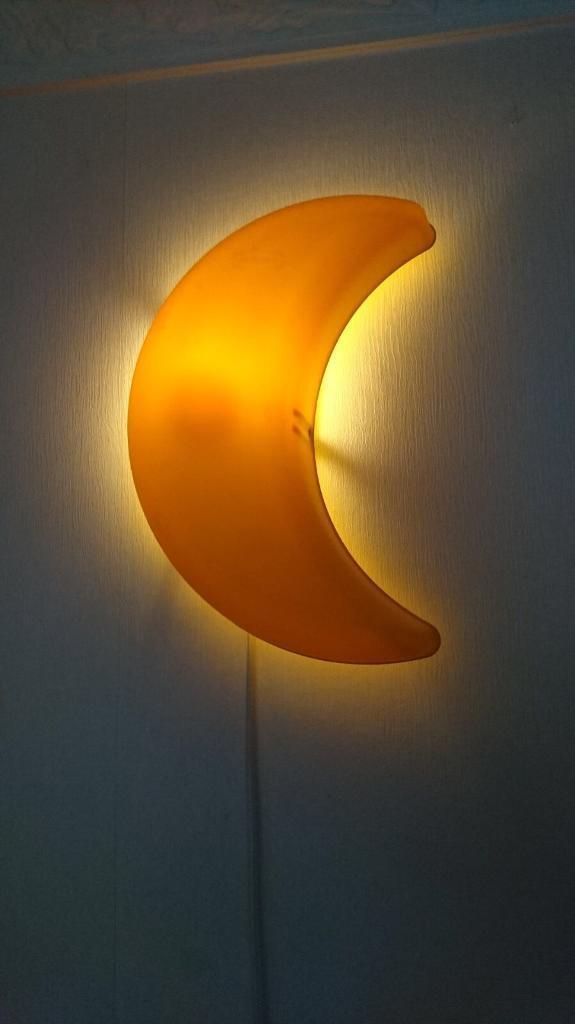 Nursery moon lamp