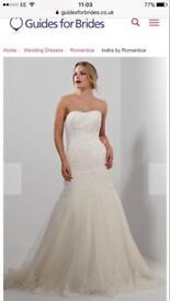 Brand new size 10 wedding dress