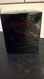 GUCCI GUILTY BLACK For Women 50ml EAU DE TOILETTE 100% Original - Brand New & Sealed
