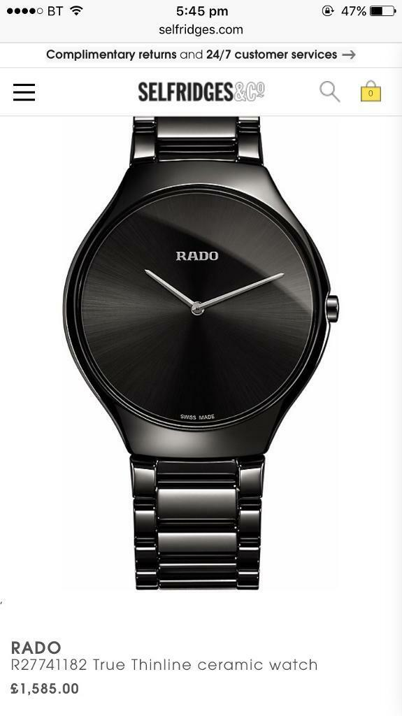 Rado watch px swap car iphone golf clio bmw damaged pitbike spare or repair