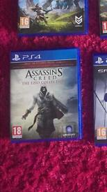 Ezio collection ps4
