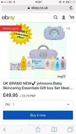 Johnson baby skincare box
