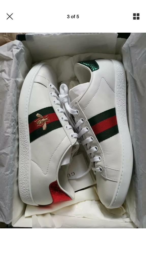 b9a956c9a09 Women s Gucci Trainers Size 4 UK