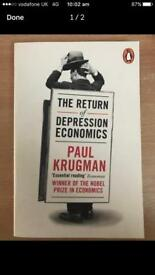 The Return of Depression Economics by Paul Krugman