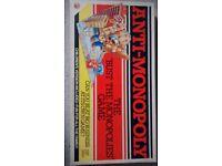 Vintage Anti Monopoly board game