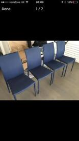 4 Dining chairs perfect conditions PICK UP only