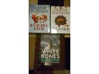 3 Graham Masteron books