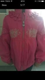 Stunning designer Pompolina jackets x2