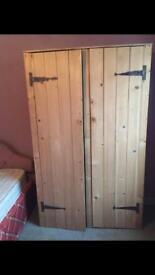 Old Pine Wardrobe