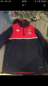 Brand new rugby England waterproof jacket