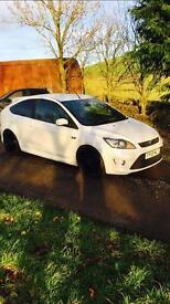 Ford Focus ST 2010, 46k immaculate 360+bhp, pearl white.