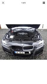 BMW F30 F31 M sport Breaking for spares 2013-2018