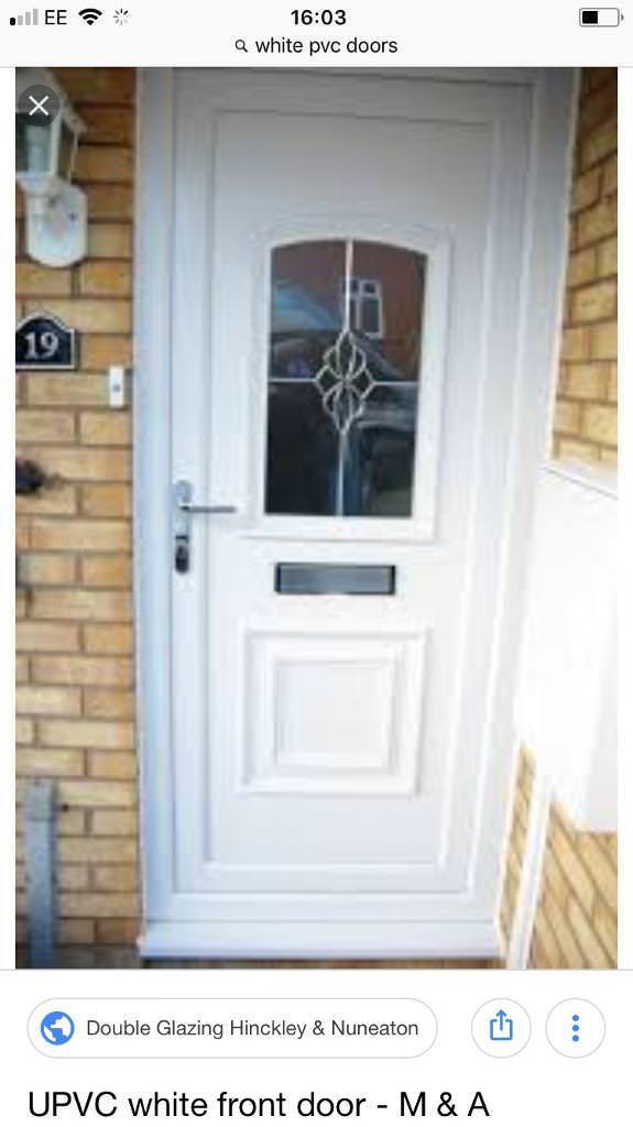 White PVC door and frame required | in Newtownabbey, County Antrim ...