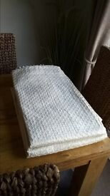 Beautiful long fully lined, cream only £40 for pair, 150cm x 270cm smoke & pet free home