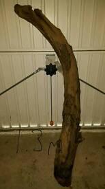 Large driftwood log for vivarium/aquarium/decoration