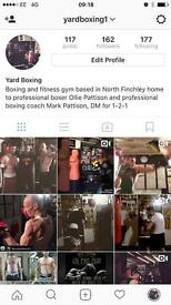 Boxing and fitness 1-2-1 personal training