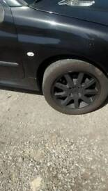Peugeot 206 alloys and sport exhaust