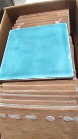 Turquoise Wall Tiles   20cm x 20cm   31 tiles