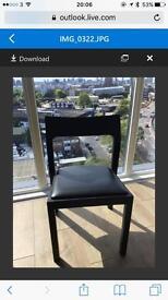 6x Matthew Hilton profile chairs