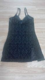Ann Summers babydoll nightwear sleepwear size UK 8