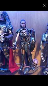 Hot toys sideshow she predator machiko
