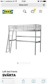 Single Ikea loft bed