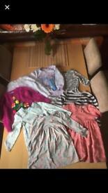 Girls winter dress/jumper bundle 3-4