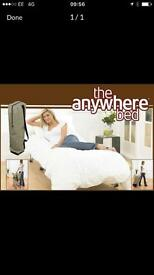 Double anywhere bed