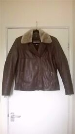 Hidepark leather jacket.. gorgeously soft, top quality leather
