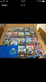19 Thomas and Friends DVD's