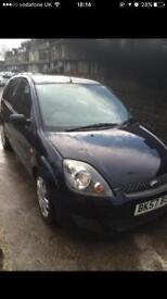 FORD FIESTA 1.24 WITH 12 MONTHS MOT