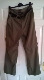 Mens Walking trousers/shorts