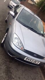 Ford Focus 5 door 53 plate silver